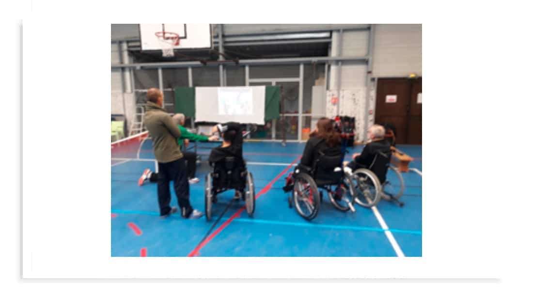 volley fauteuil